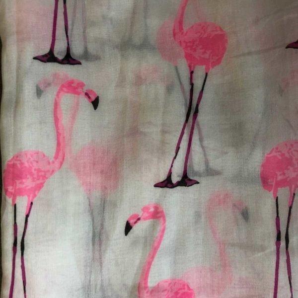 Pink Flamingo Sarong