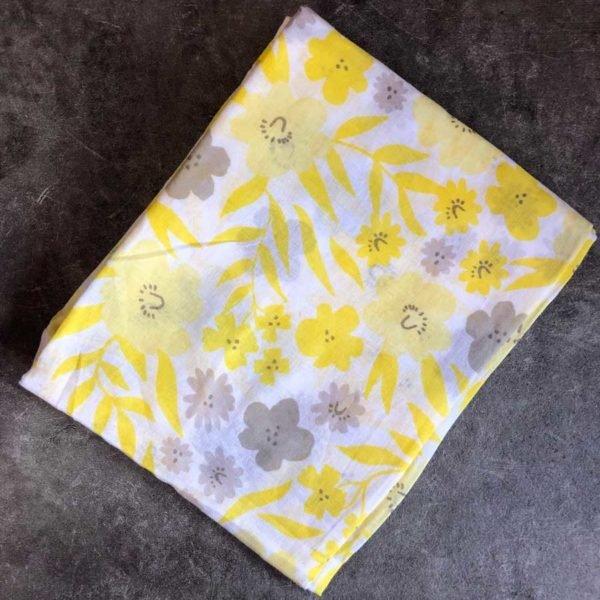 Yellow Floral Sarong