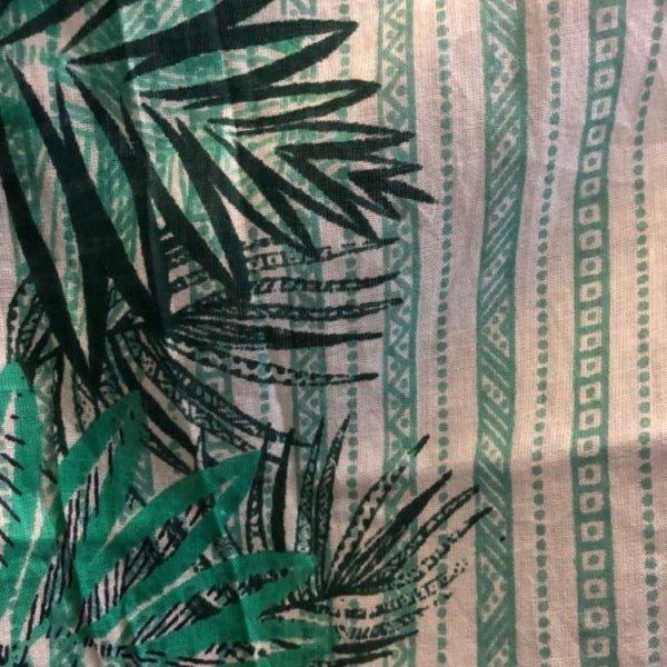 Boho Green Leaf Jacket