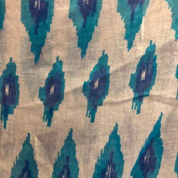 Boho Abstract Print Jacket